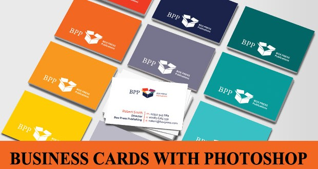 How to make a business card in photoshop online printing services business card photoshop reheart Images