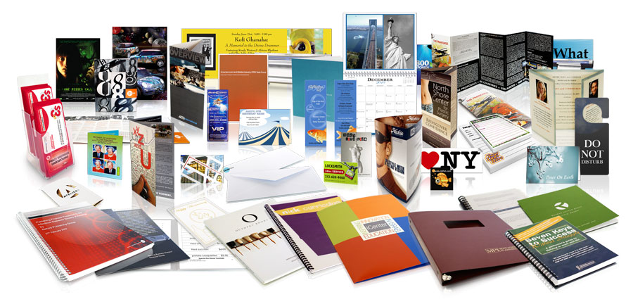 Online printing services make it easier